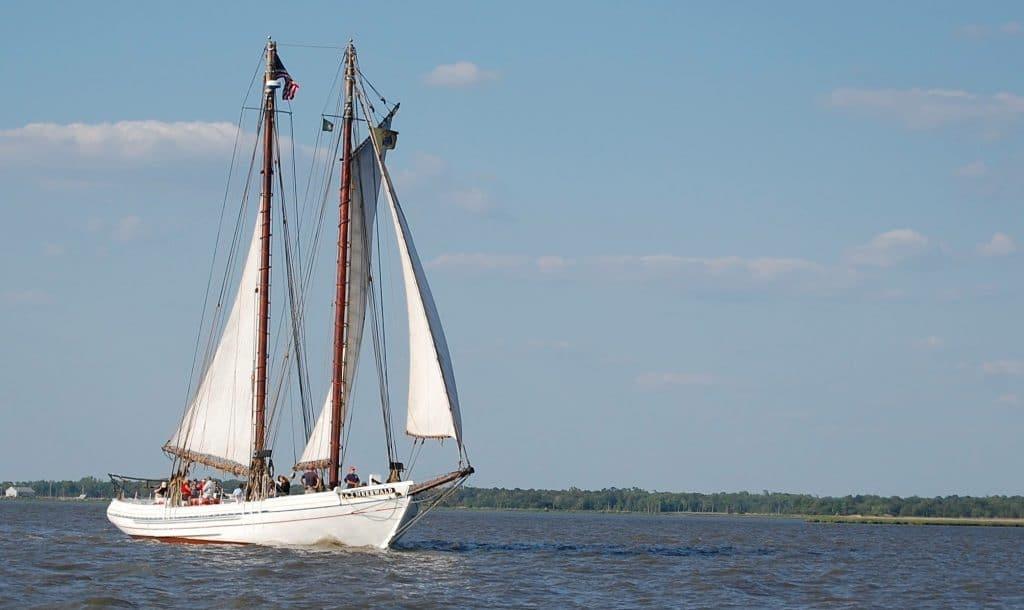 Morning River Sail