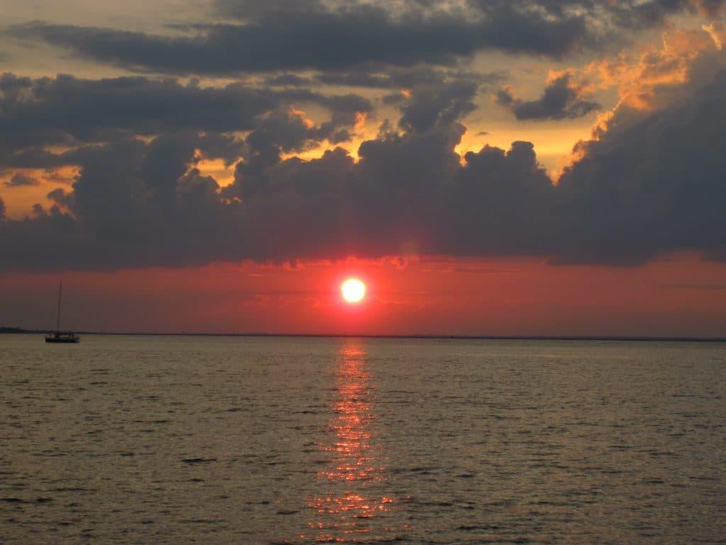 Evening River Sail