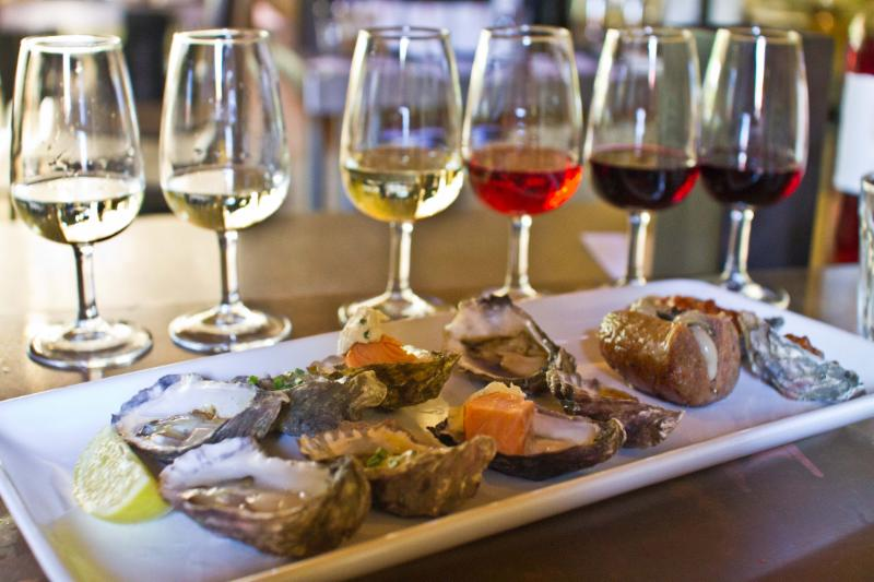 Oyster & Wine Pairing and Tasting